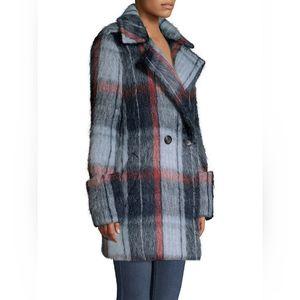 Smythe mohair car coat XS BNWT